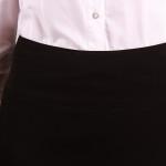 Klasyczna spodnica ze starannym wykończeniem