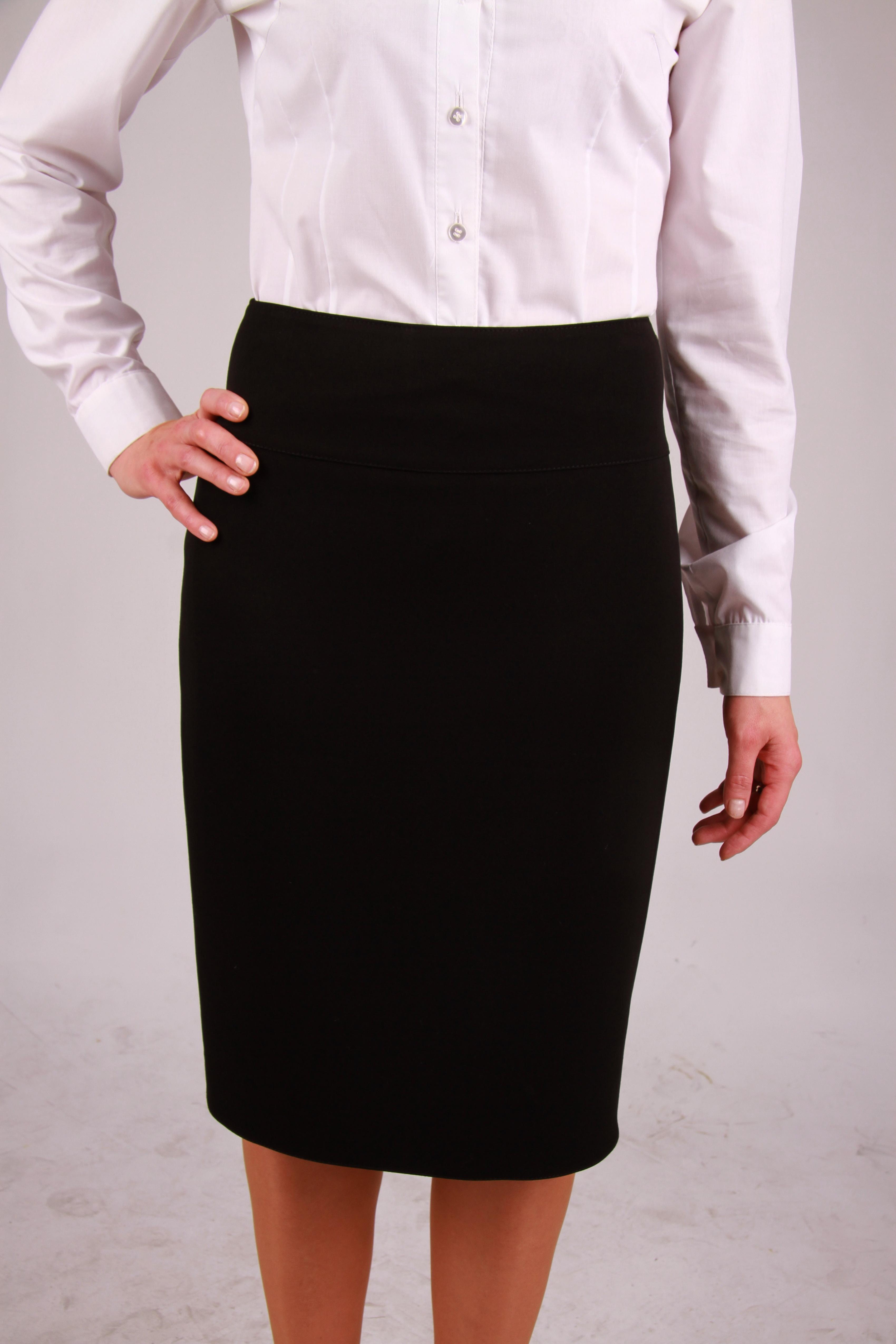 Odzież hotelowa: elegancka spodnica do pracy