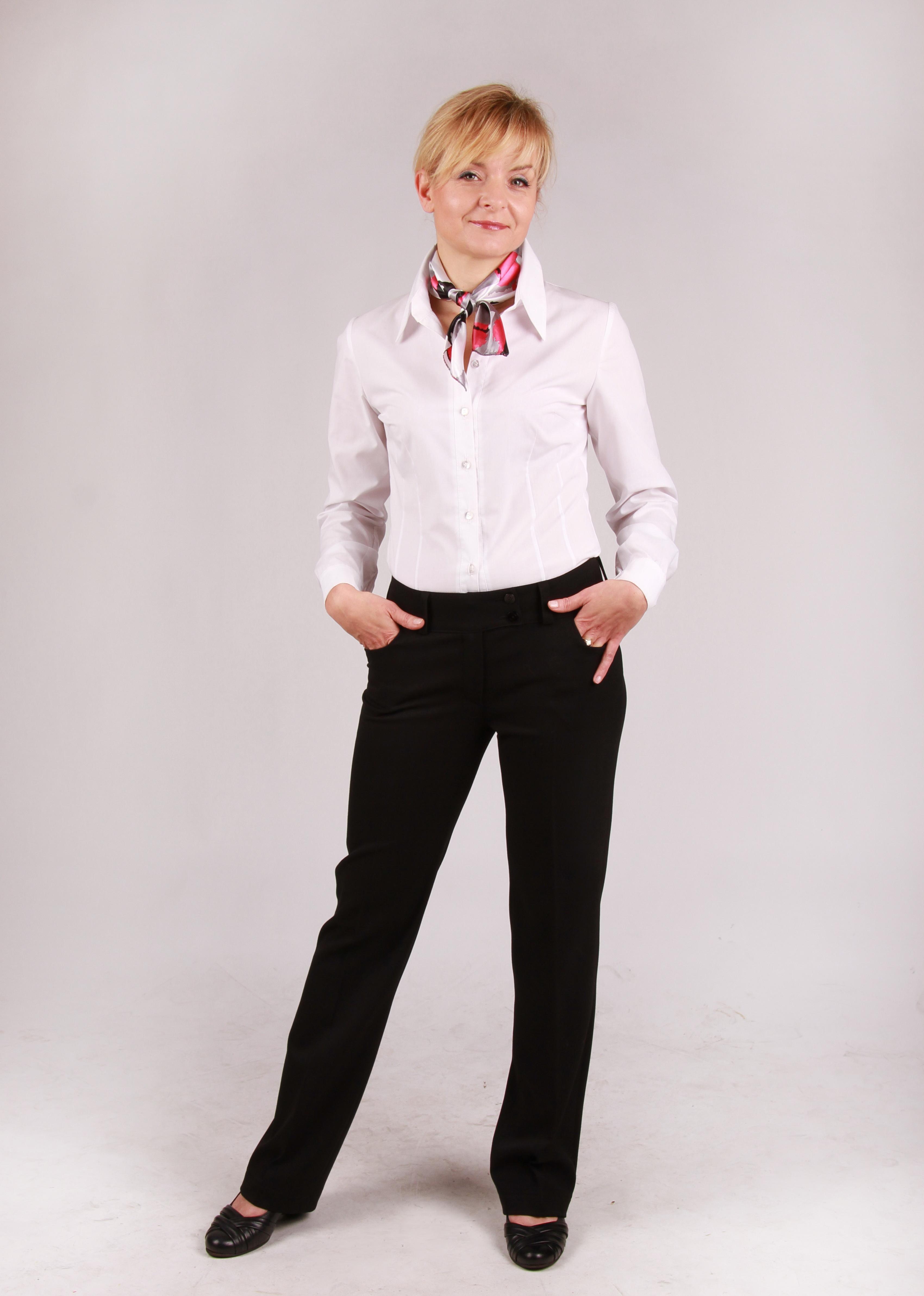 odziez hotelowa spodnie damskie recepcja