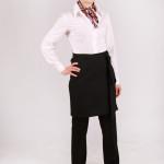 odzież hotelowa zapaska krótka pracownicza kelnerska