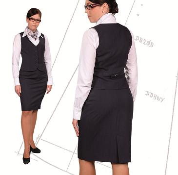 bluzka damska koszula hotel recepcja ubranie słuzbowe