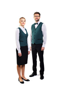 odziez hotelowa restautacja obsługa kleinta recepcja męska ubranie