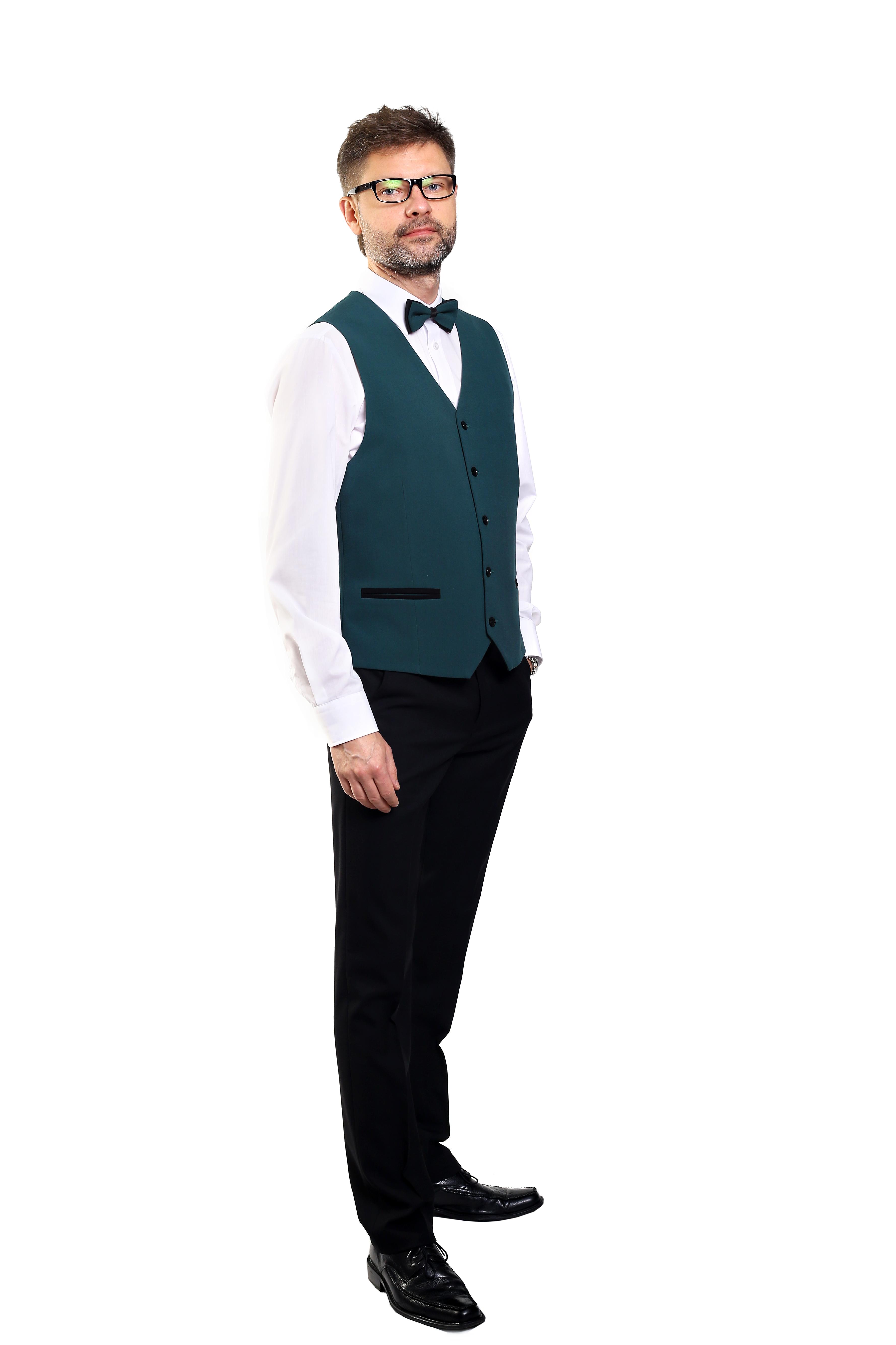 odziez htelowa ubranie obsługa gości męskie kamizelka