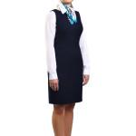 odziez hotelowa recepcja restauracja portiernia sukienka ubranie pracownicze sukienka princeska