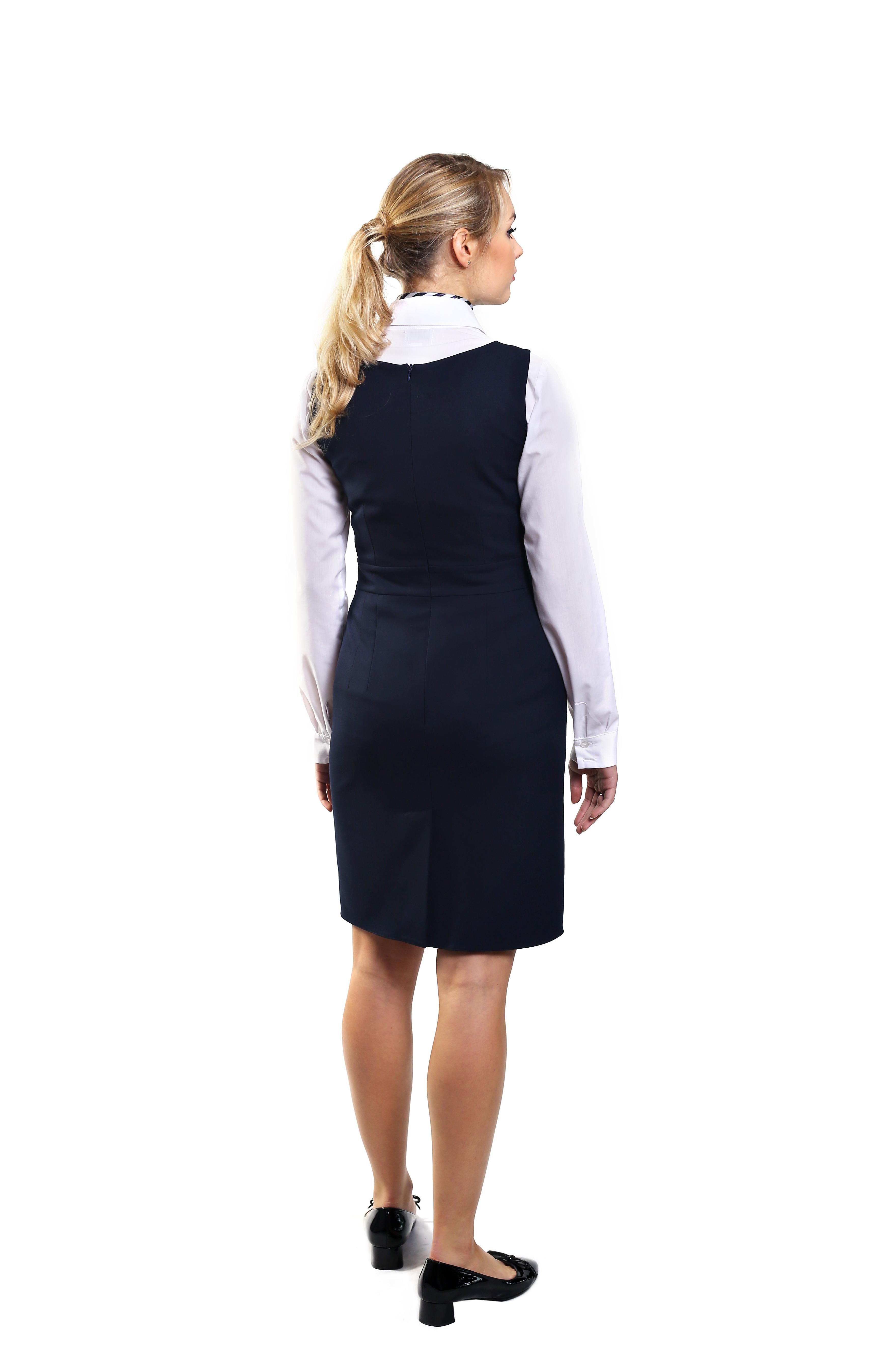 Odzież hotelowa - sukienka na recepcję