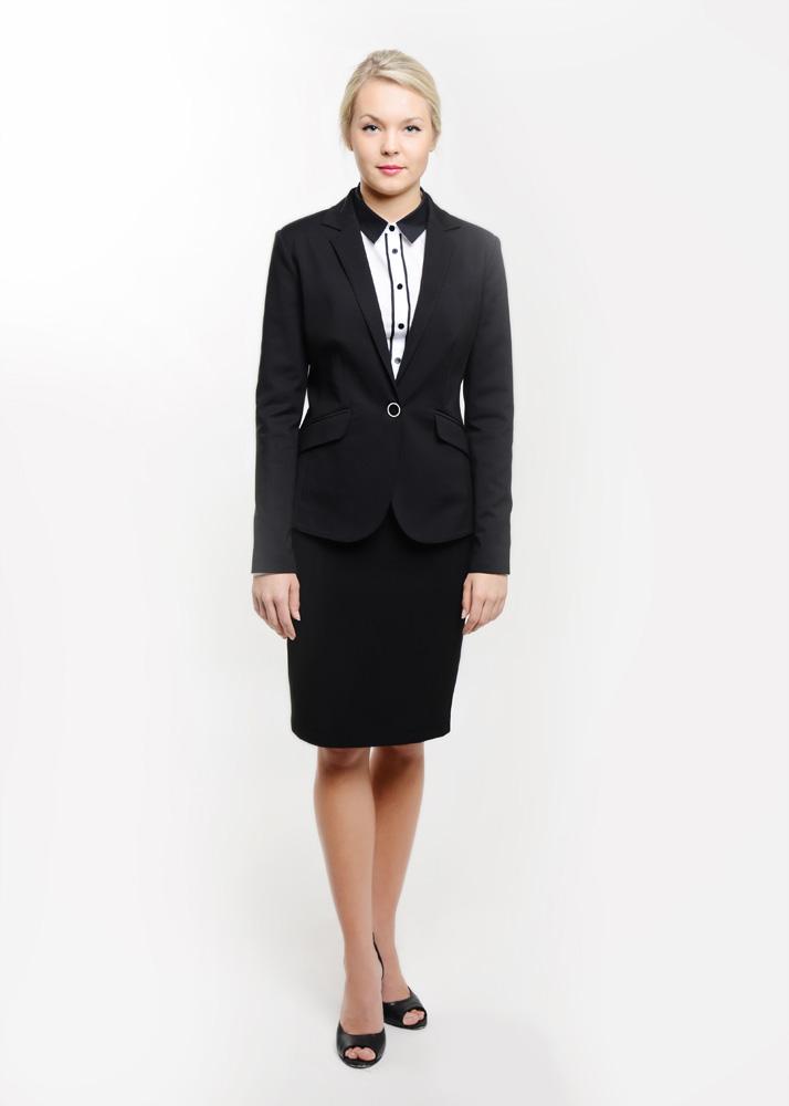 odziez-hotelowa-restauracja-spa-manager-zarzadzanie-recepcja-zakiet-elegancki-czarny-spodnica-kostrum-garsonka