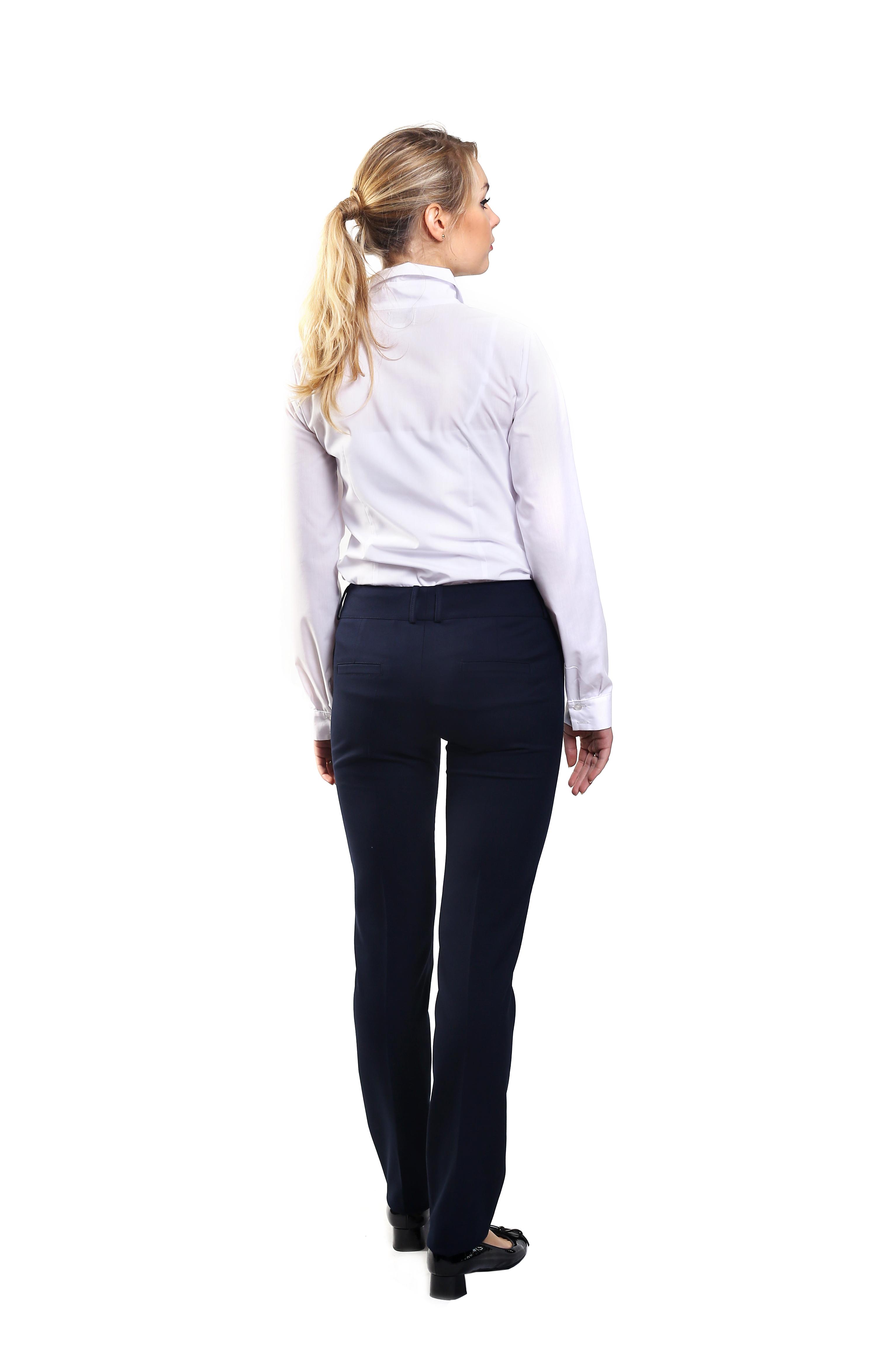 odziez-hotelowa-spodnie-damskie-klasyczne-tyl