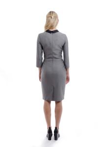 odziez-hotelowa-recepcja-ubranie-sukienka-dopasowana-recepcja-tyl