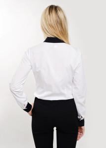 odziez-hotelowa-elegancka-recepcja-bluzka-damska-koszula-biala-z-wykonczeniem-w-kolorze-czarnym-tyl-3a