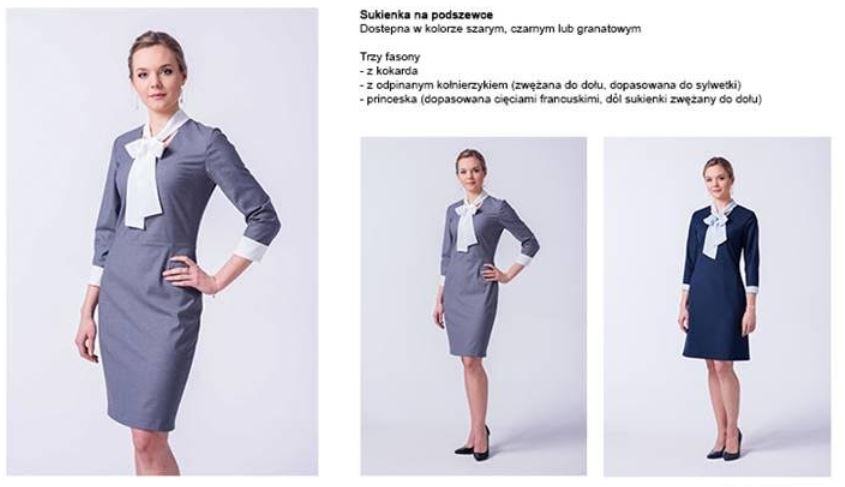 odziez-hotelowa-recepcja-ubranie-sukienka-dopasowana-recepcja-na-podszewce