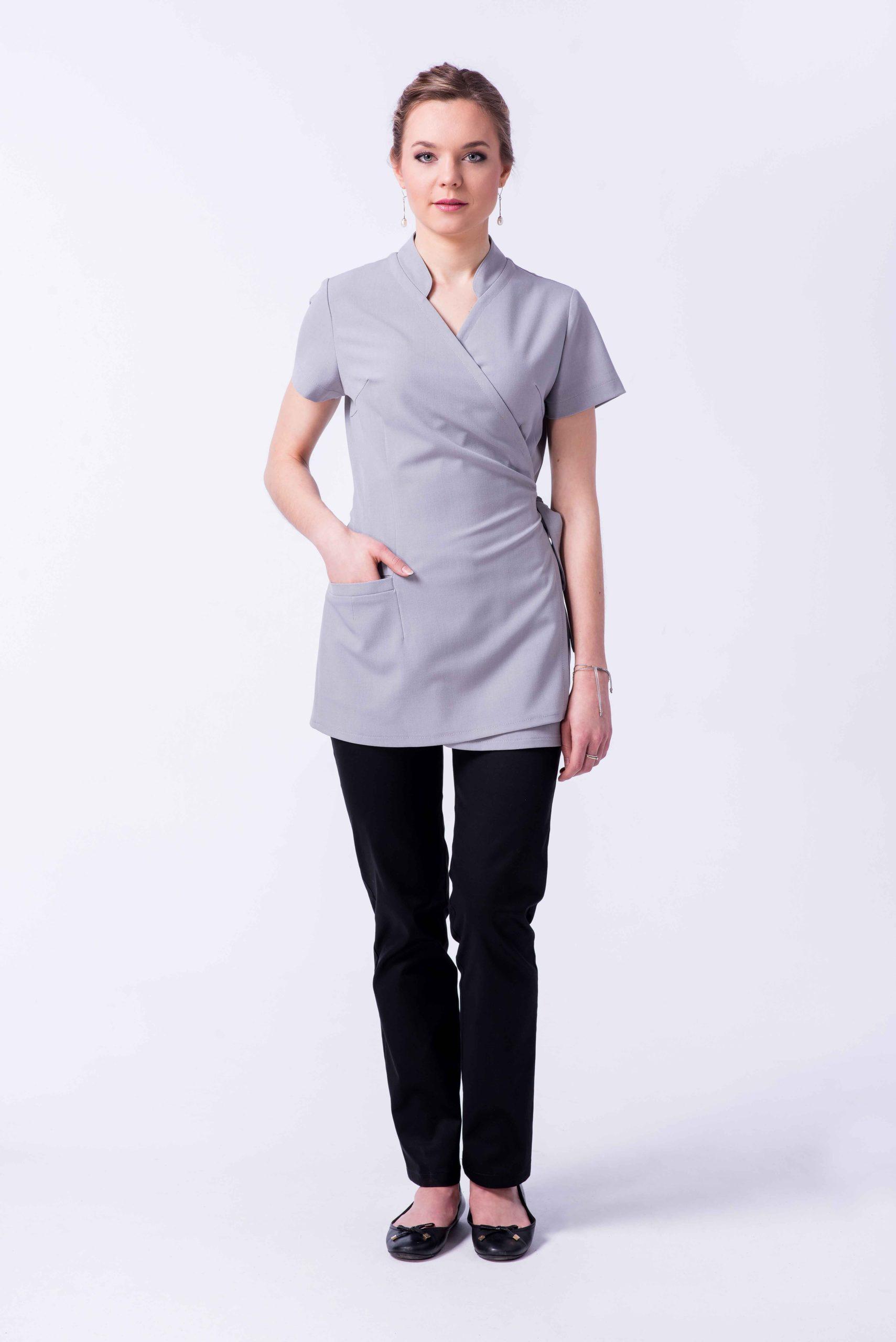 Tunika-odziez-SPA-pokojowka-hotelowa-uniform